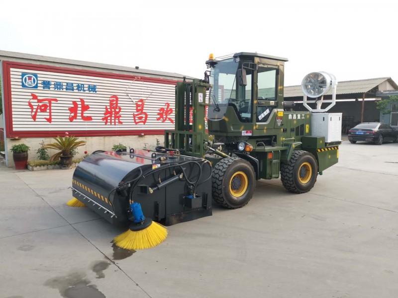 鼎昌清扫车道路沙土石子清扫车煤场清扫机市政工程扫路机