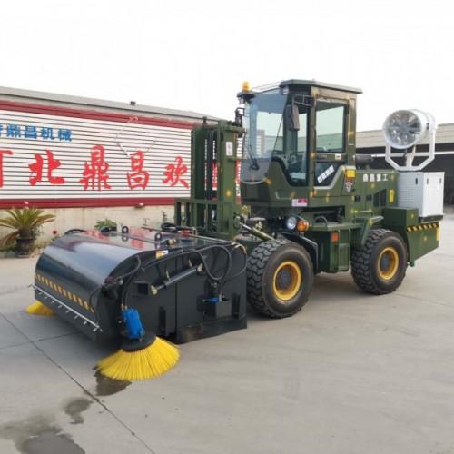 搅拌站专用清扫车砂厂尘土扫路机道路清扫车钢厂清扫车