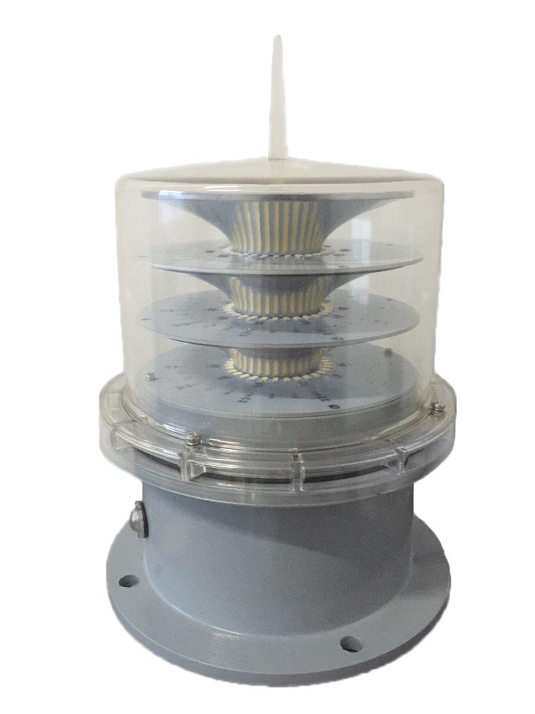 WH-180B中光强B型长寿命碟态冷光源航空障碍灯