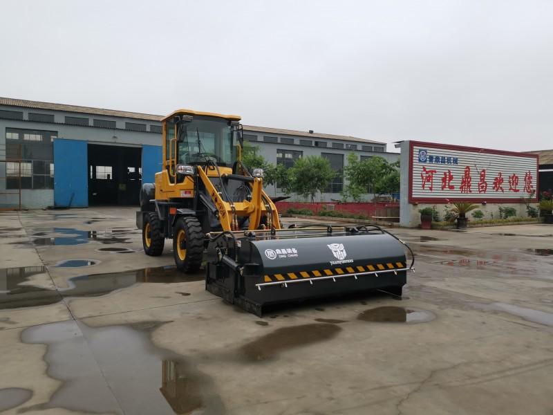 水泥厂搅拌站清扫车煤矿改装清扫车路面保洁养护清扫机工程清扫车