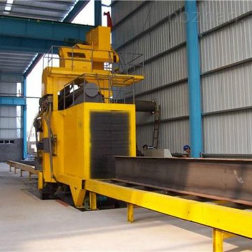 轨道通过式抛丸机 效率高 自动化程度提高50%