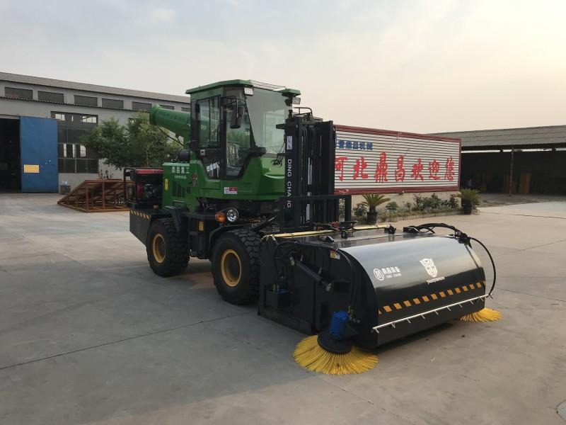 河北鼎昌机械清扫车路面施工清扫车路面清扫车