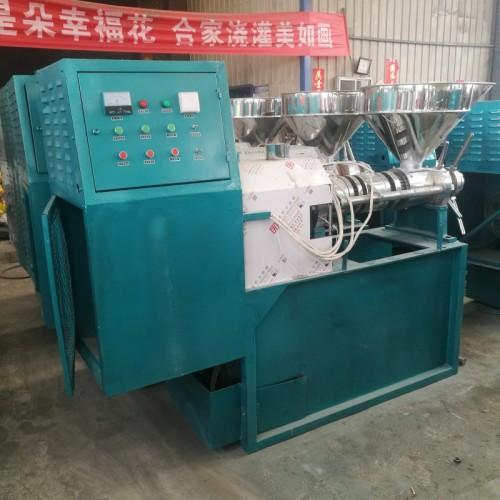 厂家供应榨油机全套设备 食用油精炼设备 螺旋榨油机