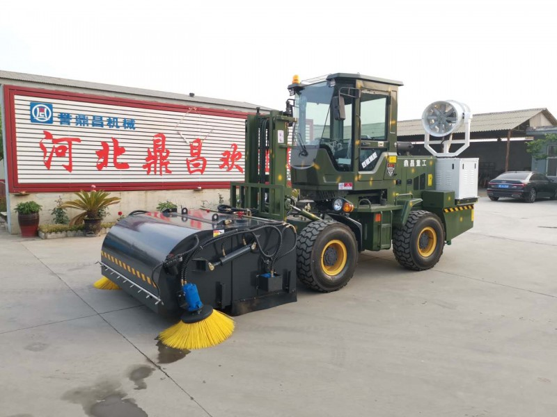 搅拌站清扫车 装载机路面清扫车铲车改装清扫车 工程清扫车