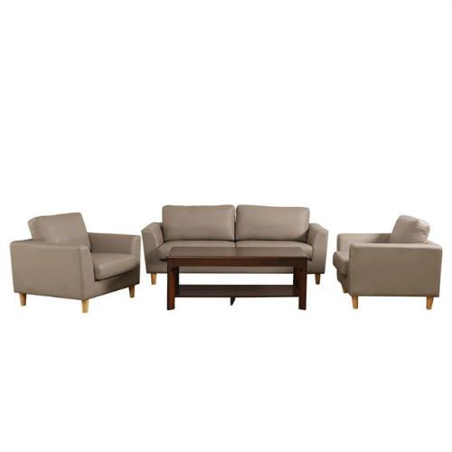 佛山家具,简约现代公司办公沙发组合,商务接待西皮沙发家用沙发