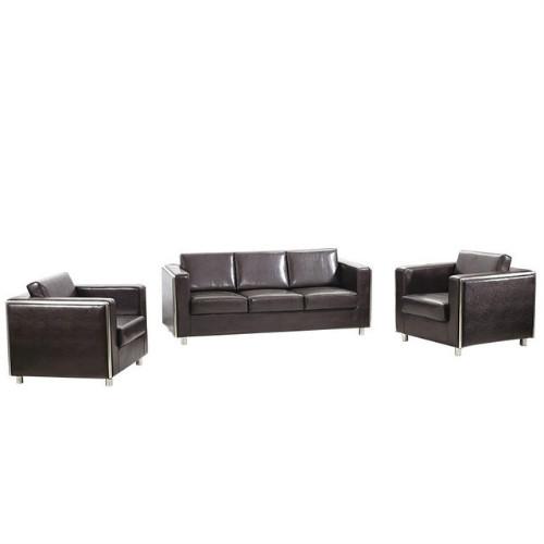 厂家直销办公室贵宾接待,商务洽谈西皮沙发,简约现公沙发组合
