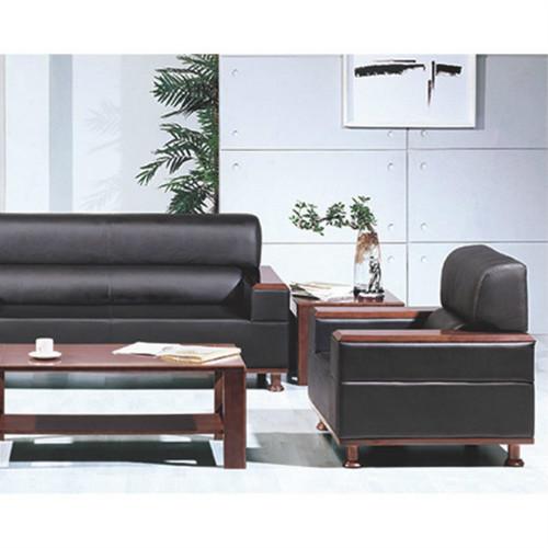 中式办公沙发,单人位双人位三人位,商务办公室沙发接待会客沙发