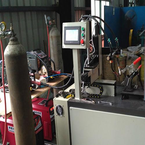 仓储笼底脚自动焊机