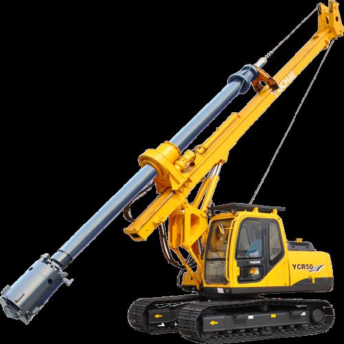 YCR50小型旋挖钻机