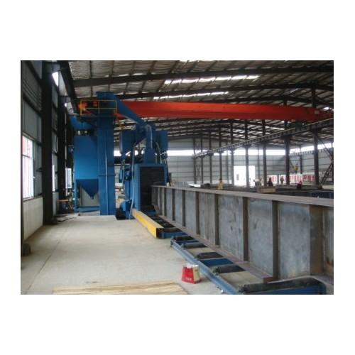 钢结构抛丸机     型钢抛丸机