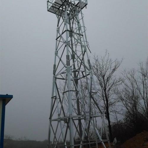 5-100米监控塔 监控塔厂家 监控铁塔还是衡水林东铁塔