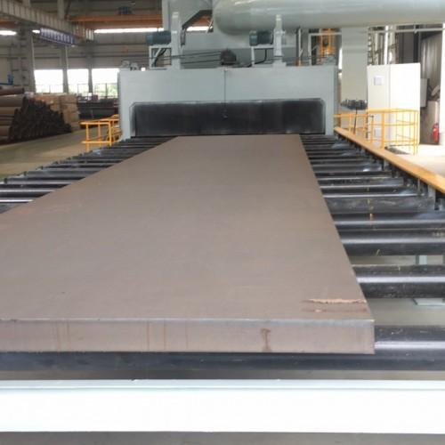 钢板抛丸机、钢板预处理线抛丸机