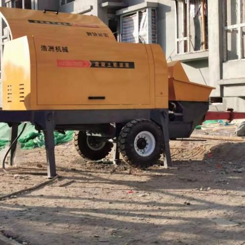 浩洲大颗粒混凝土输送泵