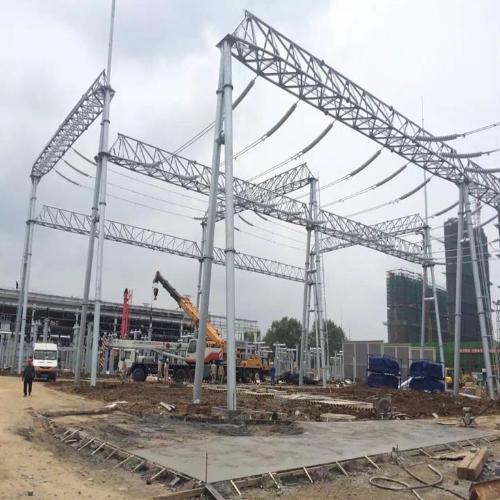 电力构架 变电站架构 架构厂家找林东通信免费指导安装