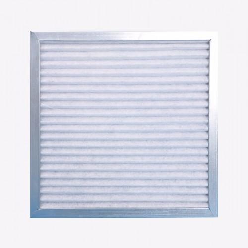 复合网板式过滤器采用特制的膨松型高通量低阻力无纺布作为滤材