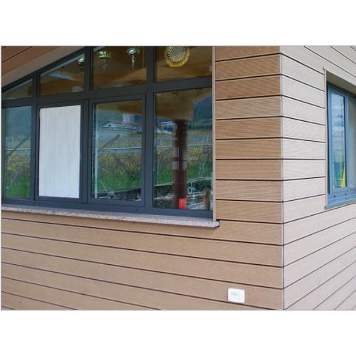 厂家直销 木塑外墙装饰板 木塑墙板 塑木装饰板 PE塑木材料