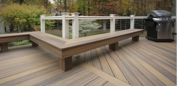厂家直销空心实心木塑地板 塑木地板价格 户外地板140x25