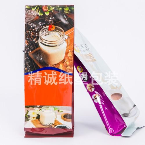 休闲食品自立包装袋八边封包装袋食品真空包装袋来样定做