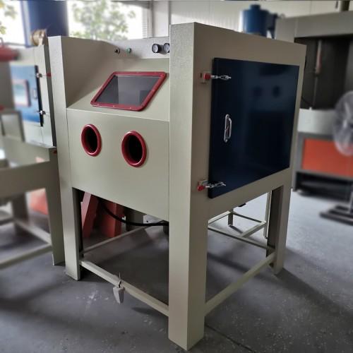 中山喷砂机厂家 五金件强化表面手动喷砂机