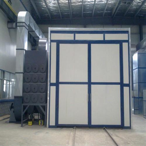中山喷砂房厂家 供应简易式自动回收循环喷砂房