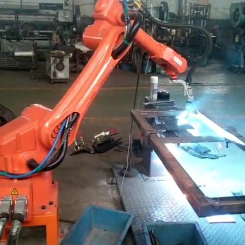 六轴焊接机器人系统集成     详细说明组图厂家产品