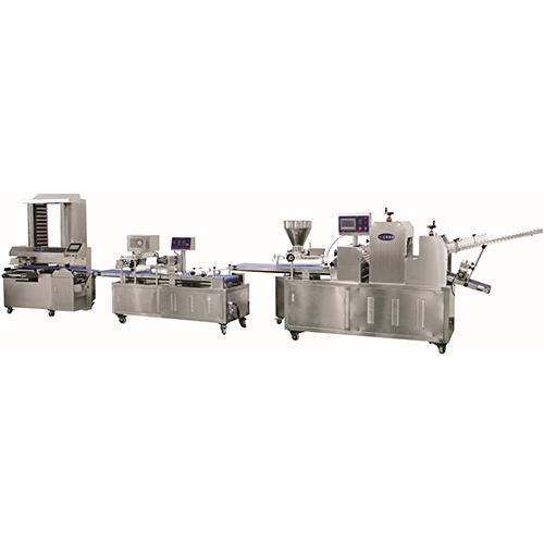 三乐SLBMII双条面包成型机组  面包生产线