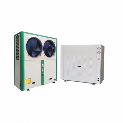 低温环境型分体空气源热泵机组 养殖恒温设备