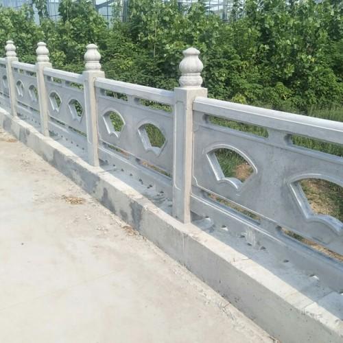 石栏杆 农村石栏杆 人工雕刻石雕牌楼 景区护栏