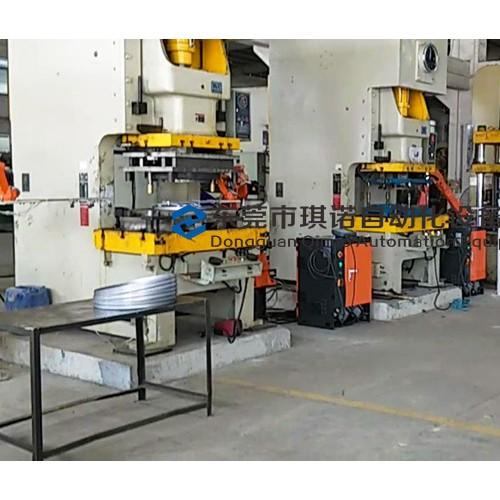 东莞冲床自动化设备 琪诺冲床油压机机械手生产线