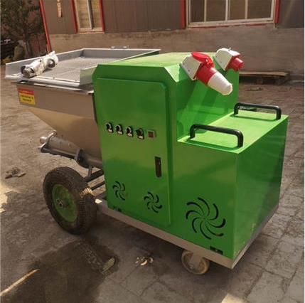 水泥沙灰喷涂机_真石漆喷涂机_新型砂浆喷涂机厂家