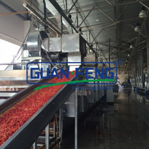 单层带式烘干机 果蔬干燥机 厂家直销烘干机 自动带式烘干设备