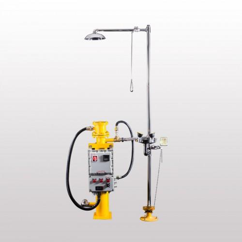 电加热+电伴热立式洗眼器