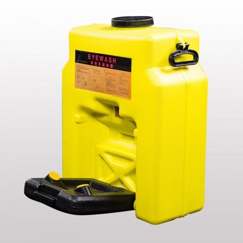 博化便携式移动洗眼桶14加仑橙