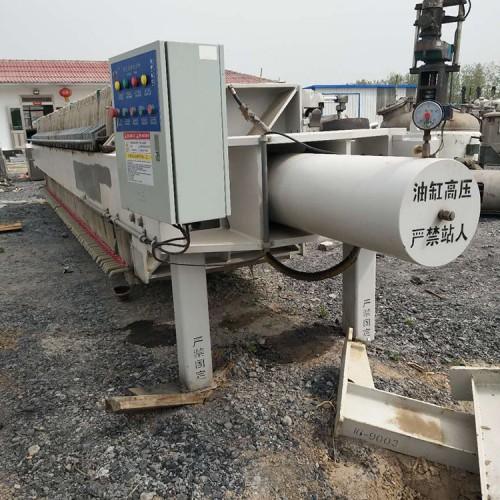 供应二手景津压滤机,厢式隔膜压滤机型号30-500平
