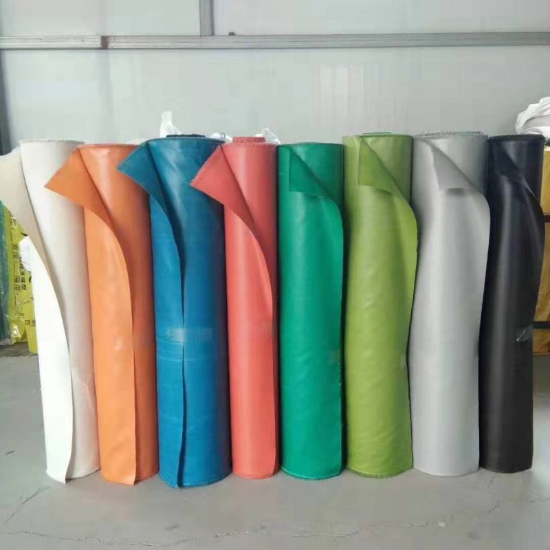 厂家销售 防火布 pvc三防布  0.3mm防水防火帆布