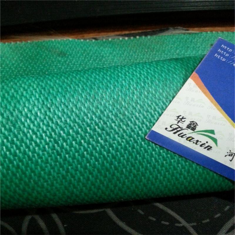 供应绿色0.5mm加厚玻璃纤维防火布 防水布 刮胶布