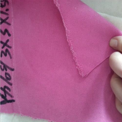河北帆布厂销售供应3*3粉色全棉帆布 箱包布 棉染色布
