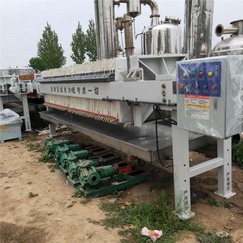 供应二手景津压滤机,厢式隔膜压滤机10-600