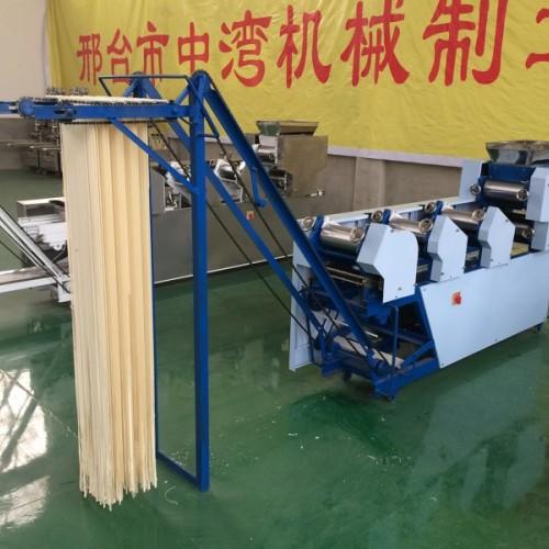 商用叠皮机大型自动面条机压面机饺子皮混沌皮