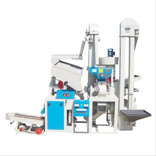 15新三型重力筛组合米机新型加工米机集中粉糠处理粉碎机