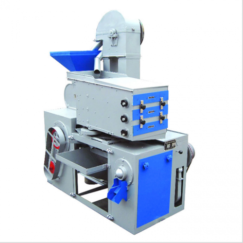 新二型游动筛移动式大米加工去石抛光全自动组合成套碾米机设备