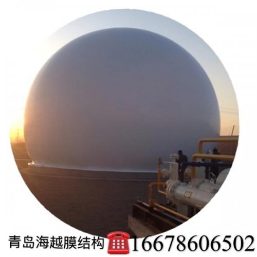 青岛海越膜结构 山东双膜气柜生产厂家 双膜储气柜 规格多样