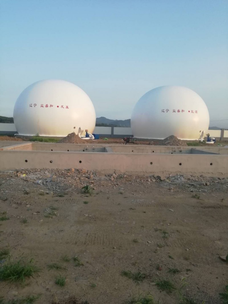 海越双膜储气柜 膜气柜 厂家直销 山东厂家