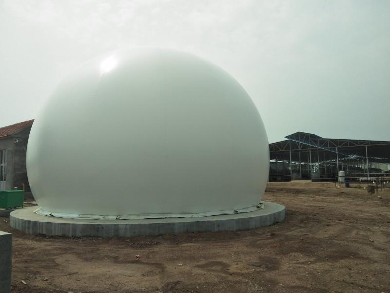 海越双膜储气柜 污水处理膜式沼气柜