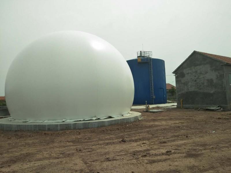海越双膜气柜 双膜柔性储气柜 山东生产厂家 双膜沼气柜