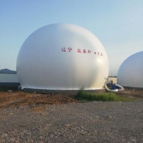 海越双膜储气柜 污水处理膜式沼气柜独立式双膜气柜