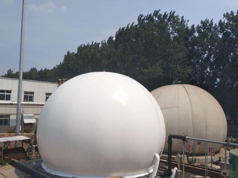 海越双膜气柜 双膜储气柜 安装指导 双膜沼气柜 工艺技术专业