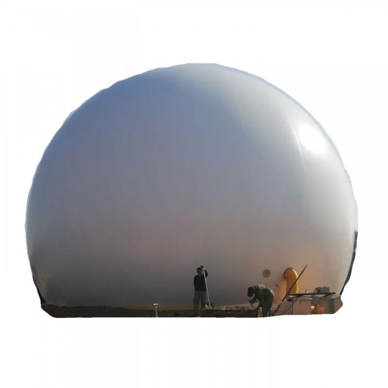 青岛海越双膜储气柜 污水处理膜式沼气柜 膜气柜