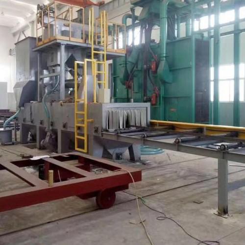 钢结构抛丸机A钢结构通过式抛丸机生产厂家
