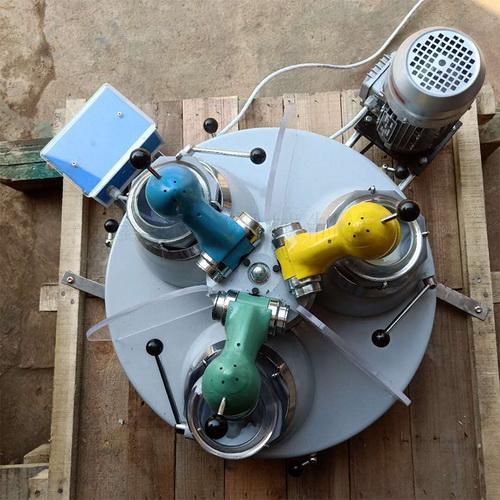 实验室磨矿机 XPM120×3实验室研磨机 干式土壤细磨机